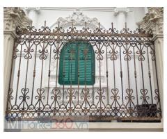 Hàng rào kim loại hoa văn cắt CNC, uốn nghệ thuật, hàng rào bảo vệ an toàn, chắc chắn