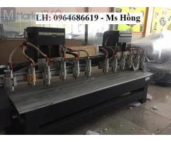Máy đục gỗ CNC 2517 12 đầu giá rẻ