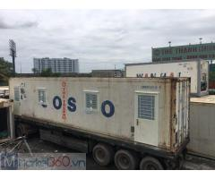Bán và cho thuê container 40 lạnh văn phòng