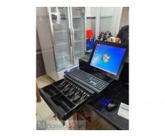 Lắp đặt trọn bộ máy tính tiền cảm ứng cho quán Cà phê- Trà sữa tại Lạng Sơn