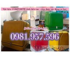 Thùng giao hàng có mút giữ nhiệt, thùng giao hàng bảo ôn