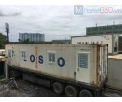 Container văn phòng 40 feet bán và cho thuê