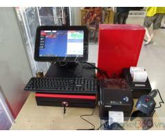 Combo máy tính tiền cảm ứng Cửa hàng Điện máy- Điện lạnh tại Bạc Liêu