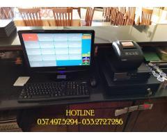 Trọn bộ máy tính tiền giá rẻ cho Khách sạn- Nhà hàng ở Đồng Nai