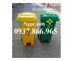 Thùng rác đạp chân, thùng rác, thùng rác tại hà nội, mua thùng rác số lượng lớn