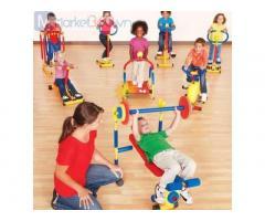 Thiết bị tập gym mini trẻ em cho trường mầm non, khu vui chơi, công viên, nhà thiếu nhi