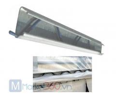 Địa chỉ thanh nẹp và zíc zắc nhà màng nhà lưới, nẹp cài màng nhà kính, phụ kiện nhà màng, zíc zắc