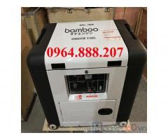 Máy phát điện chạy dầu 5kw Bamboo giá tốt.