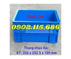 Thùng nhựa đặc, sóng nhựa bít, thùng nhựa công nghiệp, thùng nhựa cơ khí, thùng nhựa B12, thùng chứa B12