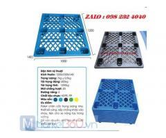 Pallet nhựa 1200x1000x140mm