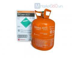 Gas R407C Chemours Freon 11,35kg USA