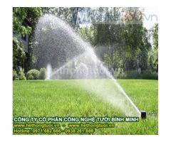 Hệ thống tưới sân vườn,đầu phun usa, béc phun usa, giá béc tưới cây, vòi phun pop up