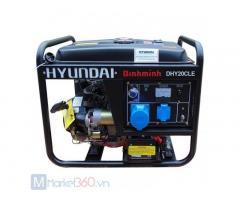 Máy phát điện chạy dầu 2KW Huyndai Hy20CLE giá rẻ