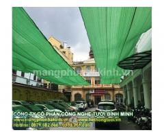 Lưới đen chống nắng tại hà nội, lưới che giảm nắng, lưới che cắt nắng thông gió cho nhà kính.