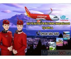 Đặt vé máy bay đi Đài Trung (RMQ) Đài Loan tại Sơn La giá rẻ