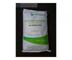 Choline Chloride (C5H14NClO) – Trung Quốc