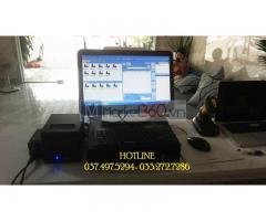Lắp đặt tận nơi trọn bộ máy tính tiền cảm ứng cho Spa tại Ninh Thuận