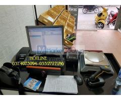 Máy tính tiền bằng mã vạch cho cửa hàng thực phẩm- Trái cây tại Bình Phước