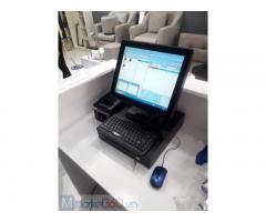 Chuyên bán trọn bộ máy tính tiền cảm ứng cho tiệm Nail tại Bình Dương