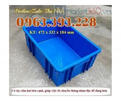 Thùng nhựa đặc cao cấp, thùng nhựa B3 giá rẻ, hộp nhựa chất lượng cao