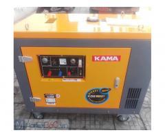 Máy phát điện chạy dầu 7kw Kama KDE8800T mua ở đâu?