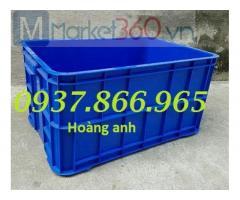 Địa chỉ sản xuất thùng nhựa, thùng nhựa dùng trong may mặc, thùng nhựa loại lớn