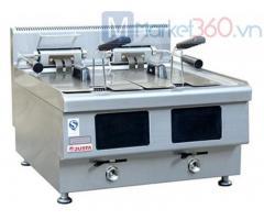Bếp chiên nhúng điện Deluxe để bàn (Phiên bản cảm ứng) JUS-TEF-2D