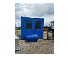 Container TOILET 10 feet sơn mới