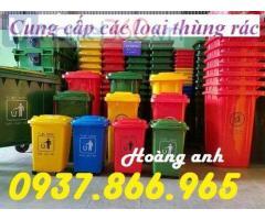 Thùng rác trong công viên, thùng rác nhựa , thung rac,thùng rác 120l, thùng rác y tế