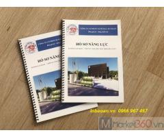 Thiết kế catalogue, in quyển hồ sơ, in hồ sơ năng lực