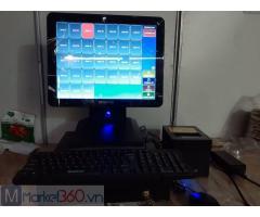 Chuyên bán trọn bộ máy tính tiền cảm ứng cho Quán ăn vặt tại Nghệ An