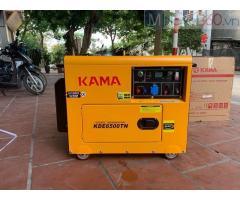 Máy phát điện chạy dầu 5kw Kama KDE6500TN giá rẻ.