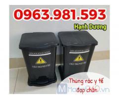 Thùng rác đạp chân y tế, thùng rác y tế