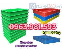 Khay nhựa YM006, sóng nhựa BL006