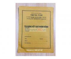 Địa chỉ in túi Xquang, báo giá in túi phim, in túi phim bệnh viện