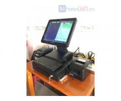 Máy tính tiền cảm ứng cho Cửa hàng hải sản Đông lạnh tại Ninh Thuận