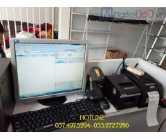 Lắp máy tính tiền bằng mã vạch cho Cửa hàng- Shop- Tạp hóa tại Bắc Ninh
