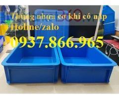 Khay nhựa đựng sản phẩm trong công nghiệp, khay nhựa đựng trong cửa hàng kim khí,thung nhua dac