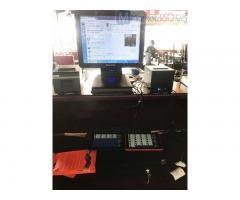 Trọn bộ máy tính tiền cảm ứng cho Quán Lẫu- Nướng tại Hải Phòng