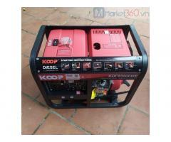 Máy phát điện chạy dầu 7kw Koop KDF8500WE giá tốt.