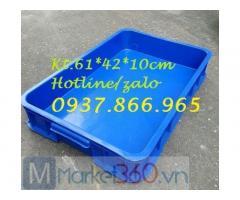 Thùng nhựa bít cao 19, cung cấp thùng nhựa các loại, bán thùng nhựa đặc, khay nhựa công nghiệp cáo 15cm