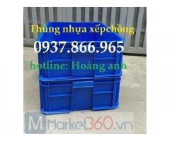Thùng nhựa bít tại hà nam, thùng nhựa b4, thùng nhựa cơ khí