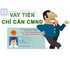 Vay tiền chỉ cần CMND Photo Đăng Ký Online 0% Lãi Suất