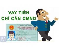 Vay tiền chỉ cần CMND Đăng Ký Online 0% Lãi Suất