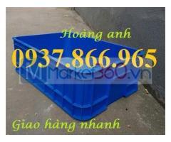 Thanh lý thùng nhựa công nghiệp B1( thùng nhua dac), thùng nhựa cơ khí