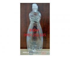 Giá sỉ gia công chai lọ nhựa pet 800ml cao cấp sẵn