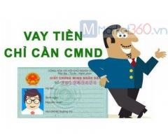Vay tiền chỉ cần CMND Online 0% Lãi Suất
