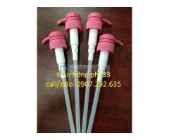 Gia công vòi bơm tròn hồng phi 33 chuyên dùng