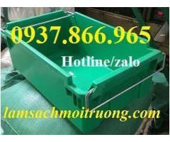 Giá thùng nhựa A2 có quay xách, khay nhựa quai sắt giá rẻ tại hà nội, khay nhựa công nghiệp, giá sỉ khay nhựa A2
