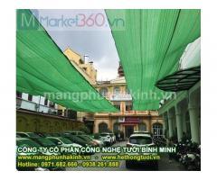 Lưới cắt nắng thái lan, lưới che nắng sân thượng, cách căng lưới che nắng, bán lưới che nắng